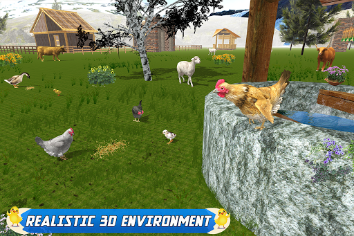 New Hen Family Simulator screenshot 11