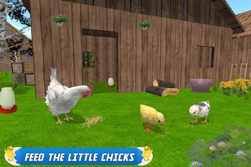 New Hen Family Simulator screenshot 2