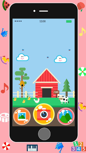 Baby Real Phone. Kids Game screenshot 4