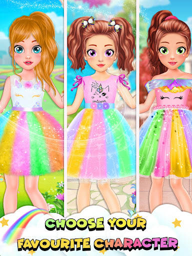 Unicorn Fashion Dress Up Makeover screenshot 3