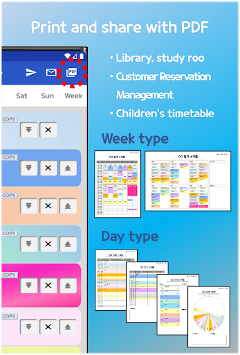 Daily Schedule - easy timetable, simple planner screenshot 4