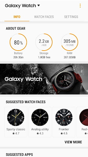 Galaxy Watch Plugin screenshot 3