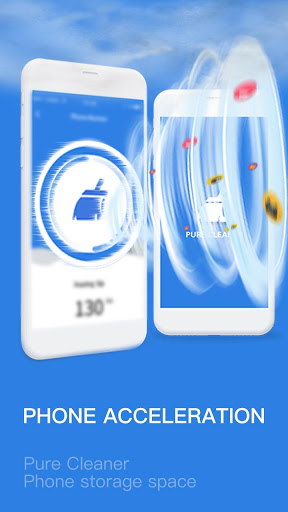 Pure Cleaner-Booster, Charge Faster, Phone Cleaner screenshot 2