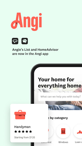 Angi: Find Pros for Home Improvement & Repairs screenshot 1