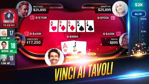 Poker Heat™ - Giochi di Texas Holdem Poker Gratis screenshot 2