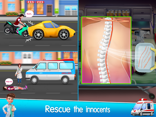 City Ambulance Doctor Hospital screenshot 6