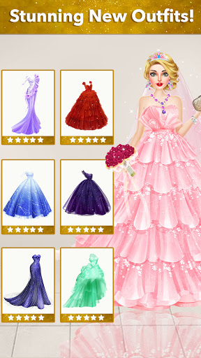 Fashion Wedding Dress Up Designer screenshot 5