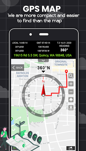 Digital Compass for Android screenshot 1