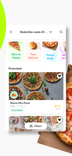Pauza.hr Food Delivery screenshot 3