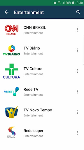 Brasil TV ao vivo no celular screenshot 3