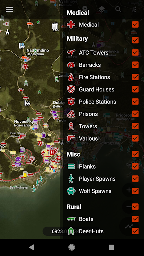 Central for DayZ - Map & Guide screenshot 2