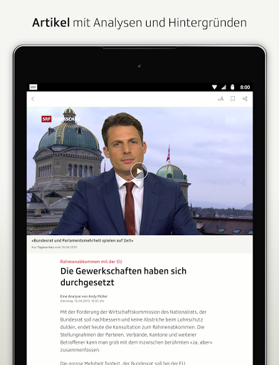 SRF News - Nachrichten, Videos und Livestreams screenshot 12