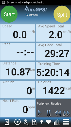 RunGPS Trainer Lite screenshot 1