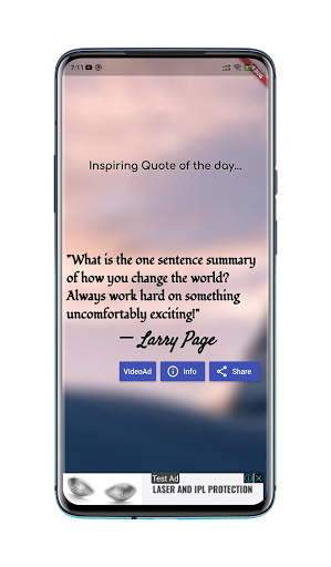 Inspiring Quote screenshot 1