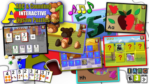 Kids ABC and Counting Puzzles screenshot 1