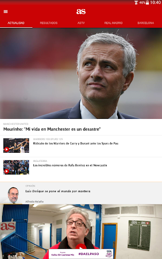 AS - News and sports results. screenshot 6
