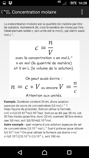 Physique_Chimie screenshot 2