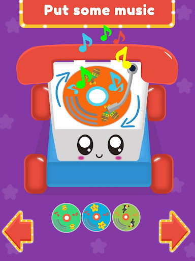 Baby Carphone Toy. Kids game screenshot 11