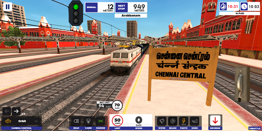 Indian Train Simulator screenshot 1