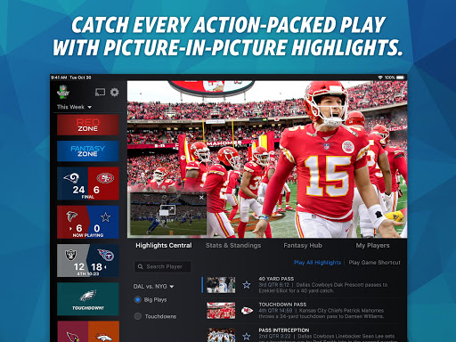 NFL Sunday Ticket for TV and Tablets screenshot 2