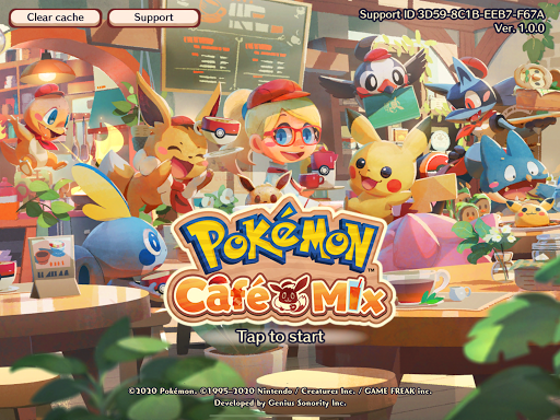 Pokémon Café Mix screenshot 12