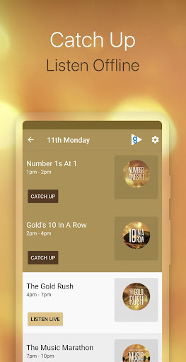 Gold Radio App screenshot 3