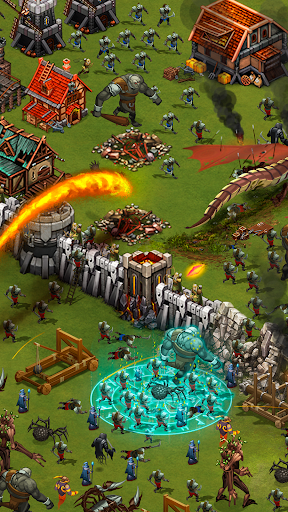 Throne Rush screenshot 2