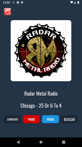 Radar Metal Radio screenshot 1