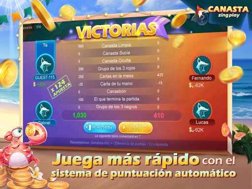 Canasta ZingPlay screenshot 4