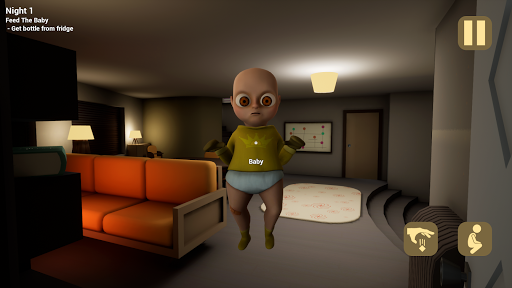 The Baby In Yellow 屏幕截图 4
