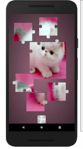 Cat puzzles Jigsaw , Slide ,2048 Puzzle Free Games screenshot 2