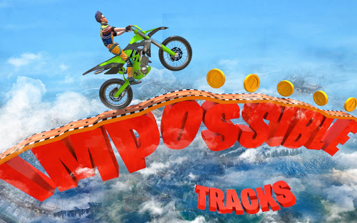 New Bike Stunts Game: Impossible Bike Stunts screenshot 1