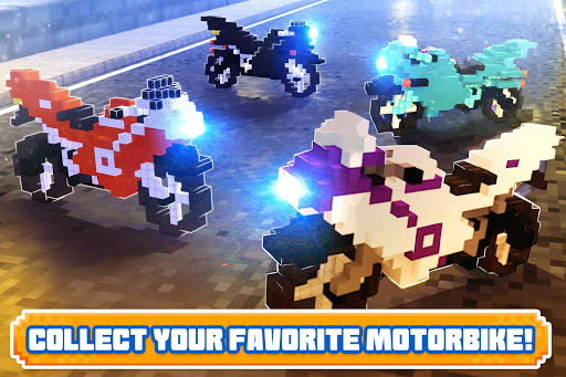 Blocky Superbikes Race Game - Motorcycle Challenge 屏幕截图 3