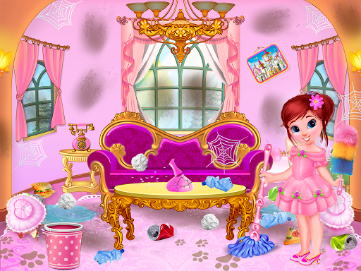 Princess House Cleanup For Girls screenshot 2