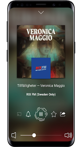 Radio Sverige - Online Radio and FM Radio screenshot 2
