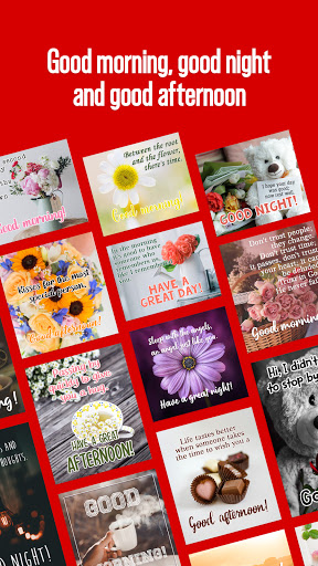 Inspirational quotes, birthday cards and wishes screenshot 3