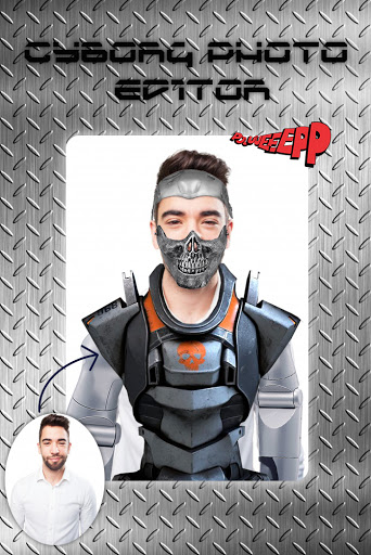 Cyborg Face Camera Photo Editor screenshot 9
