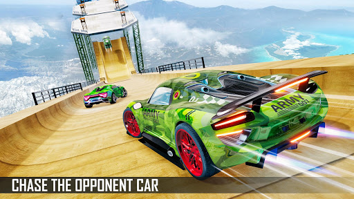 Mega Ramp Car Stunts 3D screenshot 10