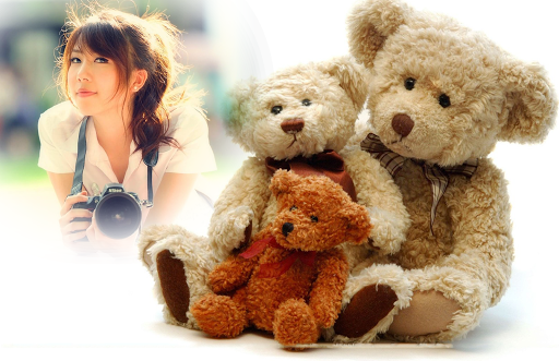 Teddy Bear Photo Frame tangkapan layar 4