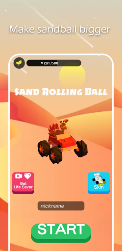 Sand Rolling Ball screenshot 1