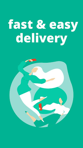 Toters:Food Delivery & More 屏幕截图 1