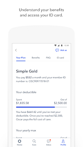 Oscar Health screenshot 5