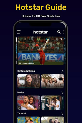 Hotstar Live Cricket TV Show screenshot 2