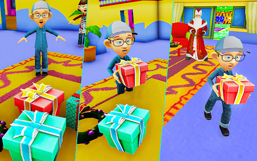 Santa Claus Christmas Fun Gift Delivery screenshot 4