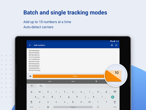 ALL-IN-ONE PACKAGE TRACKING screenshot 2