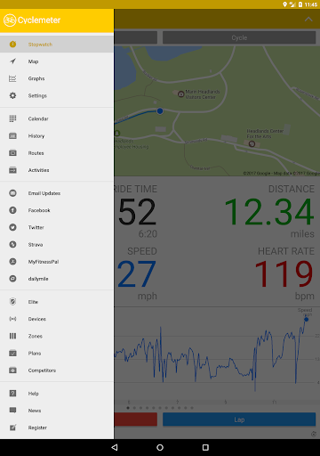 Cyclemeter GPS - Cycling, Running, Mountain Biking screenshot 11
