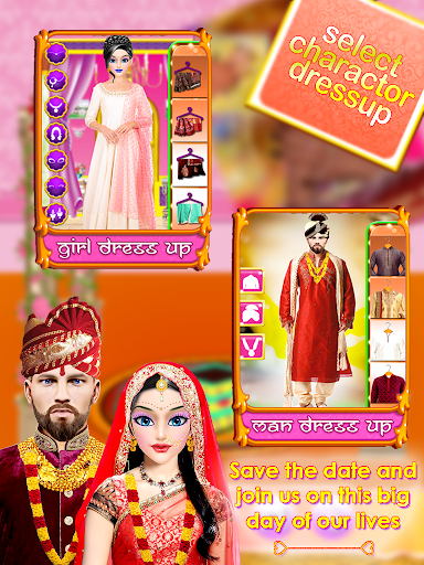 Indian Wedding Bride Arranged & Love Marriage Game screenshot 2