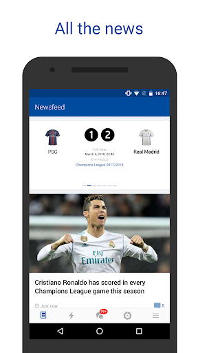 Real Live — Goals & News for Real Madrid Fans screenshot 1
