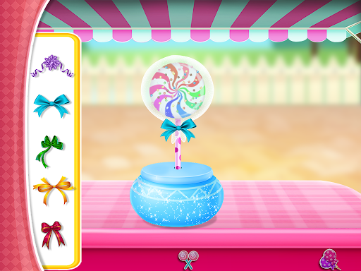 Candy Girl Salon Makeover - Candy Cooking Game screenshot 7