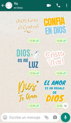 Stickers Cristianos screenshot 3